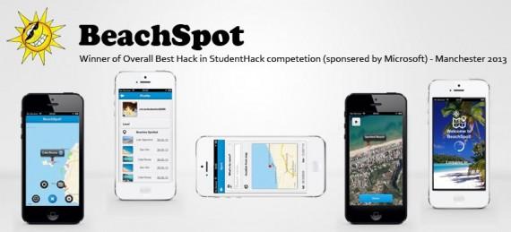 Beach Spot App